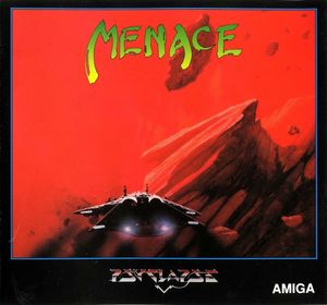Cover for Menace.