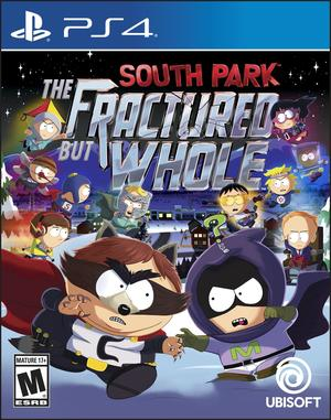 Cover for South Park: The Fractured But Whole.