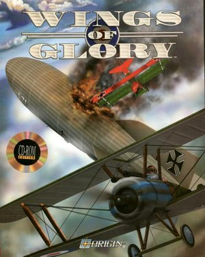 Cover for Wings of Glory.
