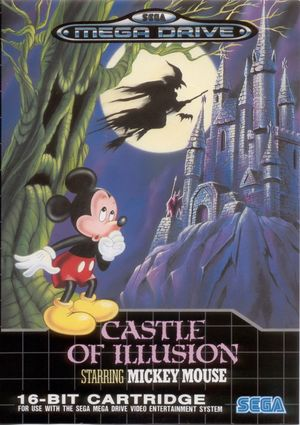Cover for Castle of Illusion Starring Mickey Mouse.