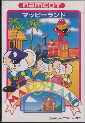 Cover for Mappy-Land.