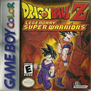 Cover for Dragon Ball Z: Legendary Super Warriors.