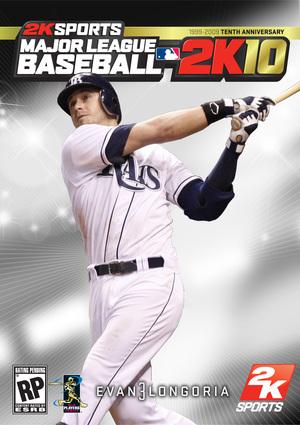 Cover for Major League Baseball 2K10.