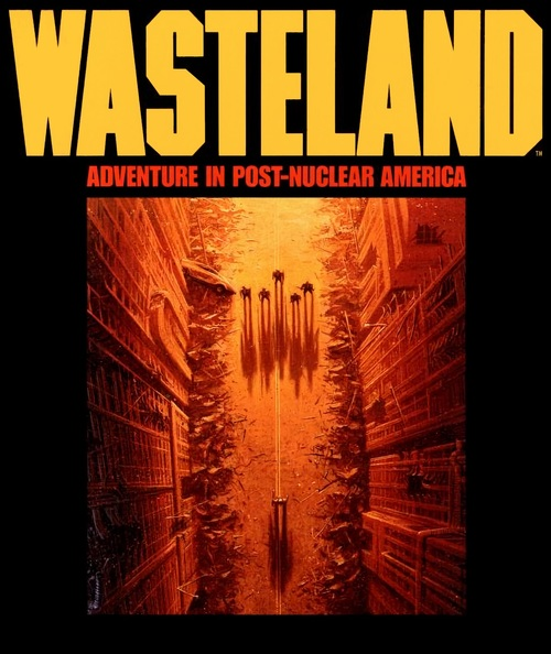 Cover for Wasteland.