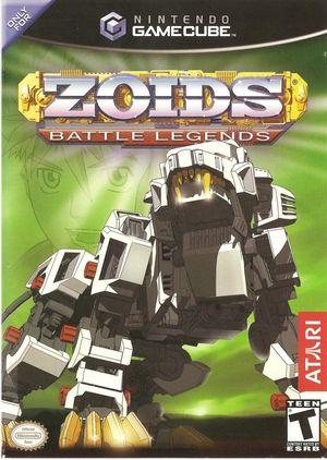 Cover for Zoids: Battle Legends.