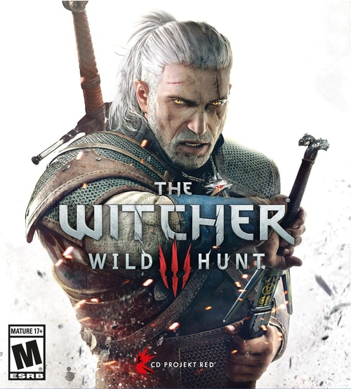Cover for The Witcher 3: Wild Hunt.