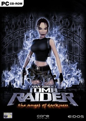 Cover for Tomb Raider: The Angel of Darkness.