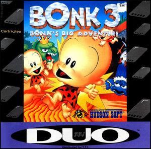 Cover for Bonk 3: Bonk's Big Adventure.