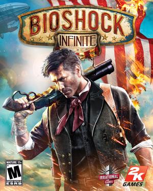 Cover for BioShock Infinite.