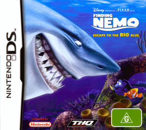 Cover for Finding Nemo: Escape to the Big Blue.