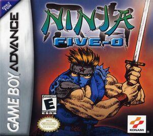 Cover for Ninja Five-O.