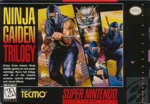Cover for Ninja Gaiden Trilogy.