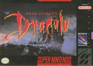 Cover for Bram Stoker's Dracula.