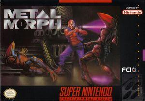 Cover for Metal Morph.