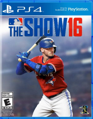 Cover for MLB 16: The Show.