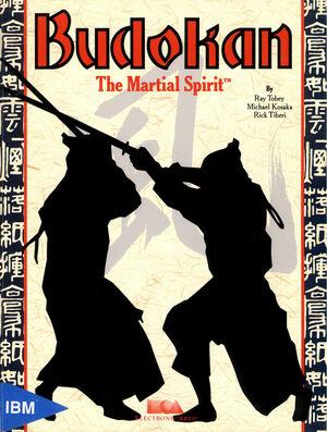 Cover for Budokan: The Martial Spirit.