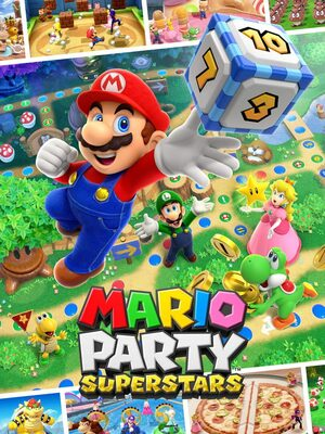 Cover for Mario Party Superstars.
