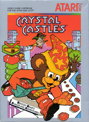 Cover for Crystal Castles.