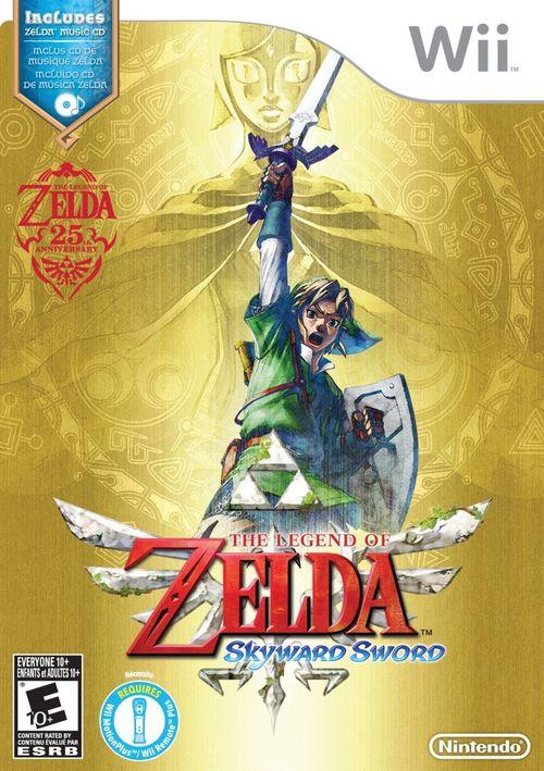 Cover for The Legend of Zelda: Skyward Sword.