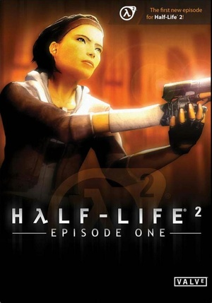 Cover for Half-Life 2: Episode One.