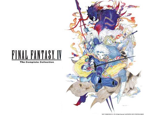 Cover for Final Fantasy IV.