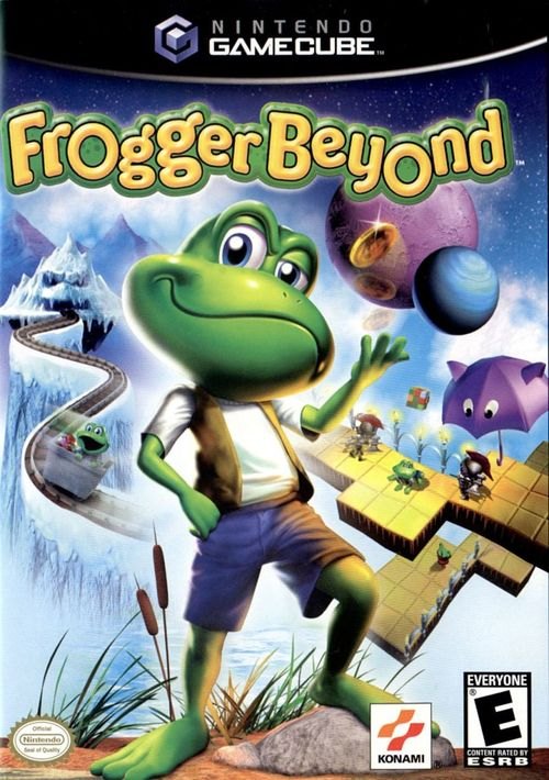 Cover for Frogger Beyond.