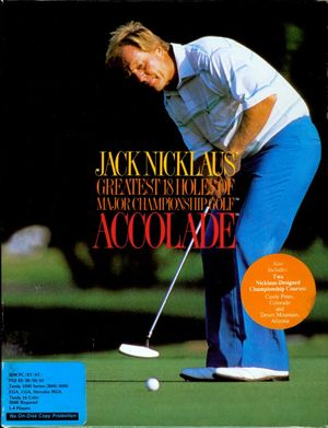 Cover for Jack Nicklaus' Greatest 18 Holes of Major Championship Golf.