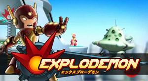Cover for Explodemon.