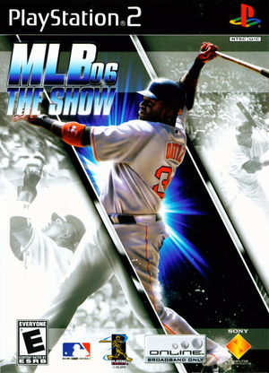 Cover for MLB 06: The Show.