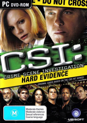 Cover for CSI: Hard Evidence.
