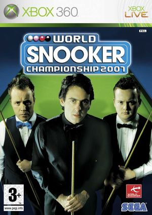 Cover for World Snooker Championship 2007.