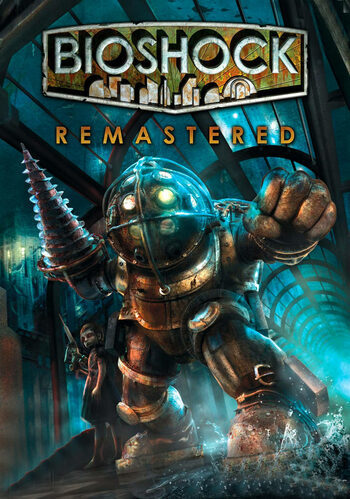 Cover for BioShock Remastered.