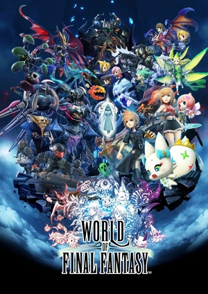 Cover for World of Final Fantasy.