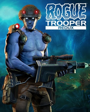 Cover for Rogue Trooper Redux.
