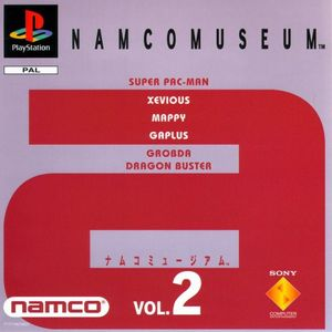 Cover for Namco Museum Vol. 2.