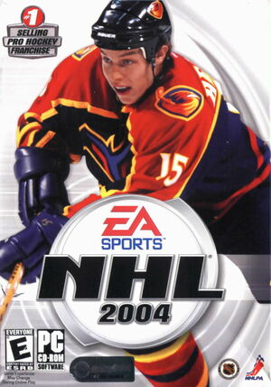 Cover for NHL 2004.