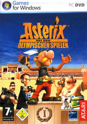 Cover for Asterix at the Olympic Games.