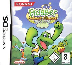 Cover for Frogger: Helmet Chaos.