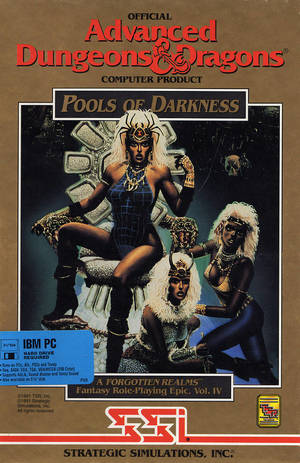 Cover for Pools of Darkness.