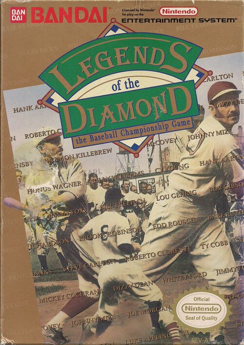 Cover for Legends of the Diamond.