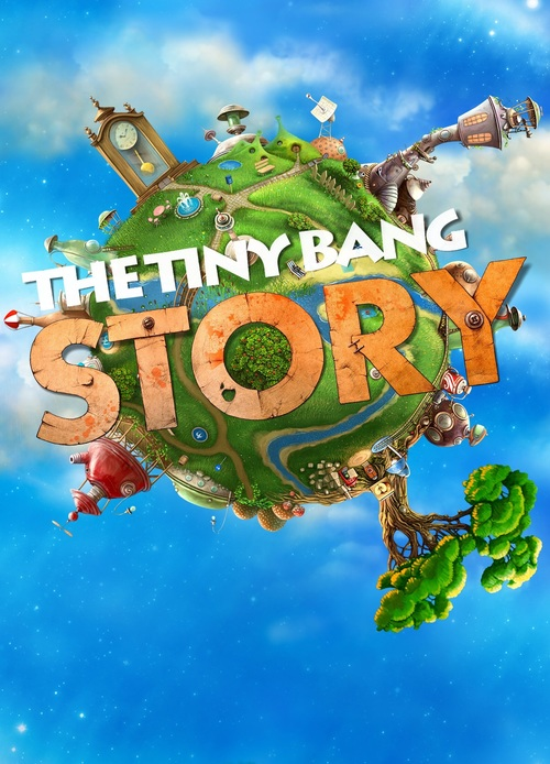 Cover for The Tiny Bang Story.