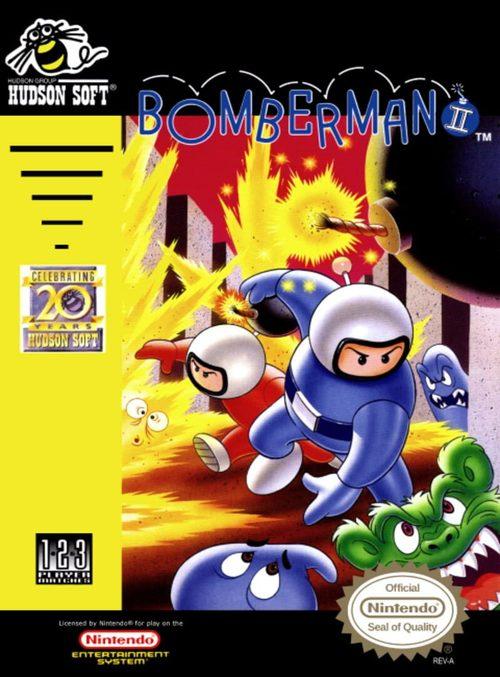 Cover for Bomberman II.