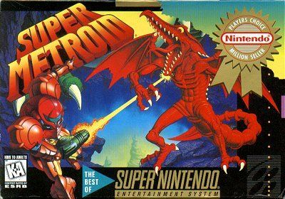Cover for Super Metroid.