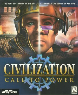 Cover for Civilization: Call to Power.