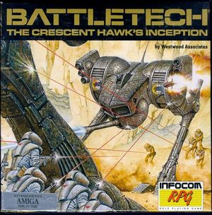 Cover for BattleTech: The Crescent Hawk's Inception.