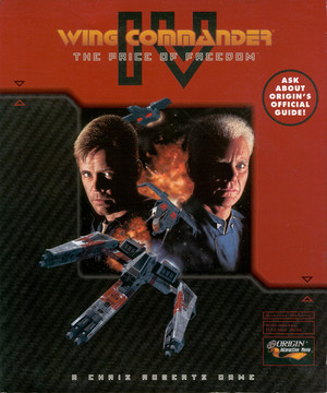 Cover for Wing Commander IV: The Price of Freedom.