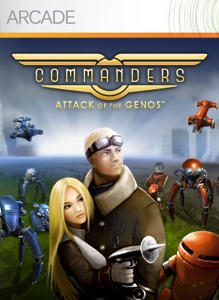 Cover for Commanders: Attack of the Genos.