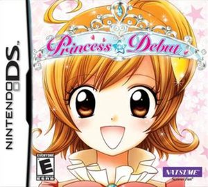 Cover for Princess Debut.