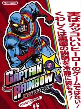 Cover for Captain Rainbow.