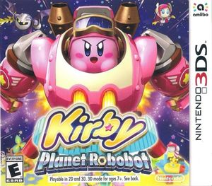Cover for Kirby: Planet Robobot.